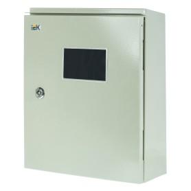 Щит металлический IEK ЩУ 3/1-0 74 У1 на 3 модуля, IP54