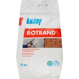 Штукатурка гипсовая Knauf Ротбанд, 5 кг