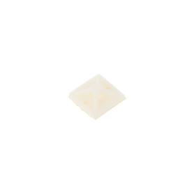 Площадка самоклеящаяся для хомутов IEK 20х20 мм, цвет белый, 100 шт.