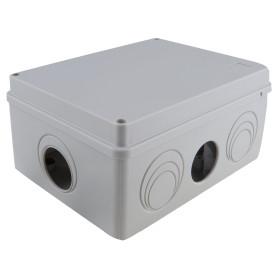 Коробка распределительная Экопласт 210х150х100 мм цвет серый, IP55
