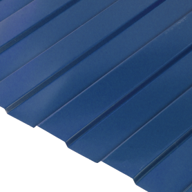 Профнастил С8 0.35 мм 1200х2000 мм синий RAL 5005