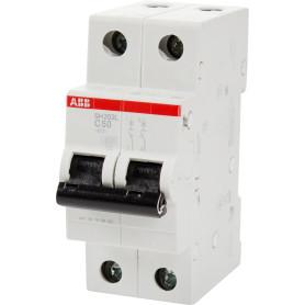 Выключатель автоматический ABB 2 полюса 50 A