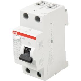 Блок утечки тока Abb F202, 2 полюса
