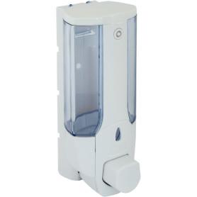 Диспенсер подвесной для жидкого мыла Mr Penguin, 300 мл, пластик, цвет белый