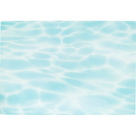 Плитка настенная «Лагуна дно» 24.9х36.4 см 1.54 м2 цвет голубой