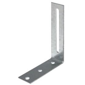 Уголок крепежный бытовой 80х20х65х2 мм
