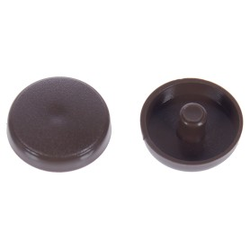 Заглушки рамного дюбеля Element 15 мм пластик цвет дуб, 35 шт.