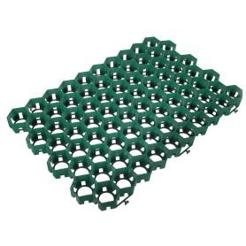 Решётка газонная ERFOLG GP, 40х60х4 см, цвет зелёный