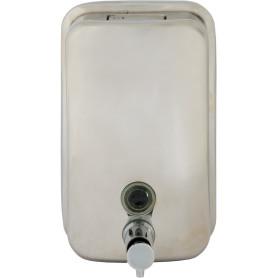 Диспенсер подвесной для жидкого мыла Bath Plus металлический, 800 мл, цвет хром