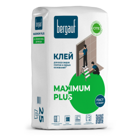 Клей для керамической плитки Bergauf Keramik Maximum, 25 кг