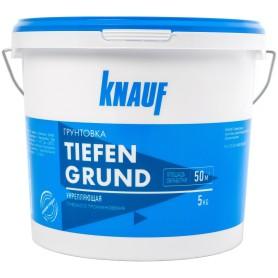 Грунтовка глубокого проникновения Knauf Тифенгрунд 5 л