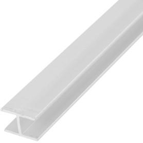 Двутавр алюминиевый 18х13х18х1.5 мм, 2 м, цвет серебро
