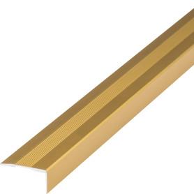 Угол алюминиевый 267, 2 м, цвет золото