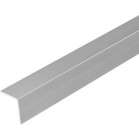 Уголок алюминиевый 15х15х1,2 мм, 2 м, цвет серебро