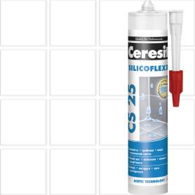 Затирка силиконовая Ceresit CS 25, 280 мл, цвет прозрачный