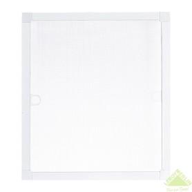 Москитная сетка белая 53х50 см к окну ПВХ 60х60 см