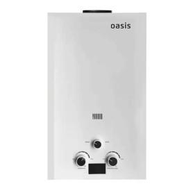 Колонка газовая Oasis, 62х33х18.5 см, 12 л/мин, цвет белый