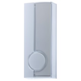 Кнопка для проводного для звонка Zamel, 220 В, цвет белый