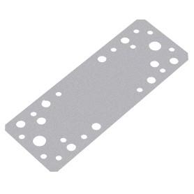 Пластина крепежная 180x65x2 мм, сталь