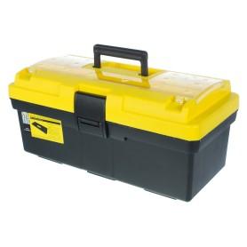Ящик для инструмента Systec 195х185х415 мм, пластик, цвет черно-жёлтый