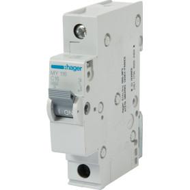 Выключатель автоматический Hager 1 полюс 16 A