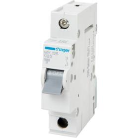 Выключатель автоматический Hager 1 полюс 25 A