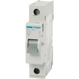 Выключатель автоматический Hager 1 полюс 40 A