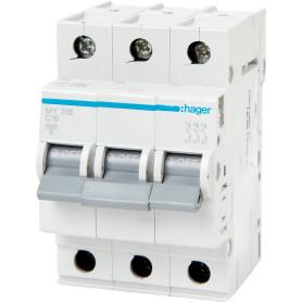 Выключатель автоматический Hager 3 полюса 16 A