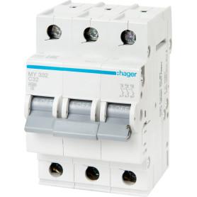 Выключатель автоматический Hager 3 полюса 32 A