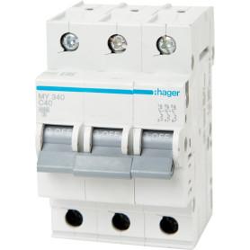 Выключатель автоматический Hager 3 полюса 40 A