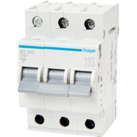 Выключатель автоматический Hager 3 полюса 50 A