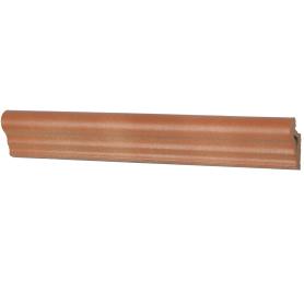 Профиль закладной №035 для ступени 5х36 см цвет коричневый