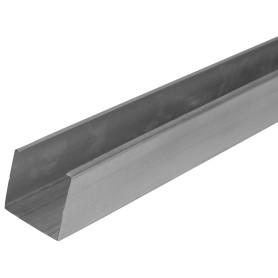 Профиль стоечный (ПС-2) Эконом 50x50x3000 мм