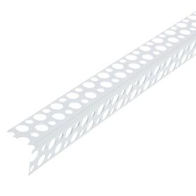 Угол перфорированный ПВХ 25х25x3000 мм