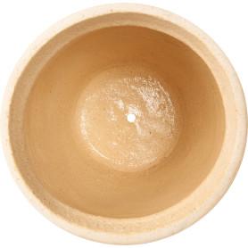 Горшок цветочный «Аттика» D27, 8л., керамика, Бежевый, Коричневый