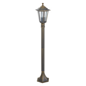 Столб уличный Inspire Peterburg 1xE27х60 Вт, алюминий/сталь, цвет бронза