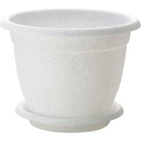 Горшок цветочный Ingreen ø20 h15.5 см v2.6 л пластик мраморный