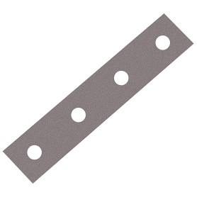 Пластина бытовая 80х15х1.5 мм, сталь