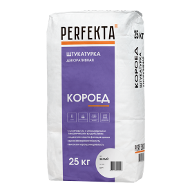 Штукатурка цементная декоративная Perfekta короед 2.0 25 кг