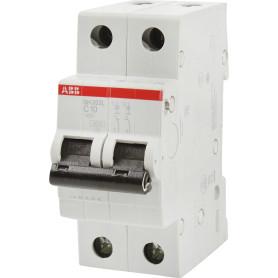 Выключатель автоматический ABB 2 полюса 10 A