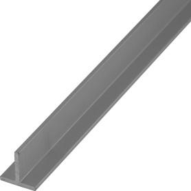 Тавр алюминиевый 15х15х2 мм, 2 м, цвет серебро