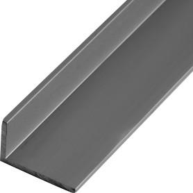 Уголок алюминиевый 25х15х2 мм, 2 м, цвет серебро