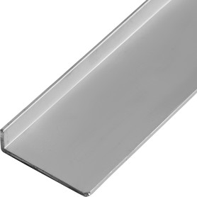 Уголок алюминиевый 40х10х2 мм, 2 м, цвет серебро