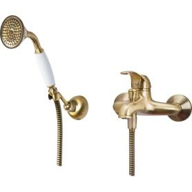 Смеситель для ванны Sensea Emmy однорычажный цвет бронза