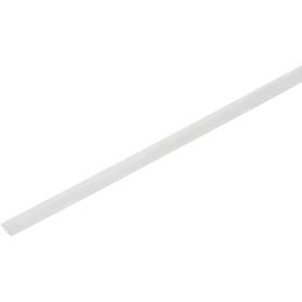 Заглушка торцевая 4 мм x 2.1 м, цвет прозрачный