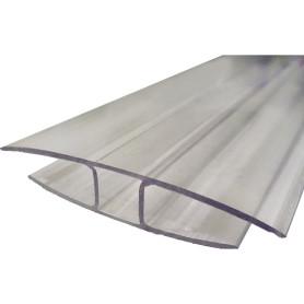 Профиль соединительный 10 мм x 3 м, цвет прозрачный