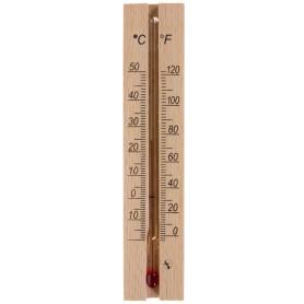 Термометр оконный деревянный
