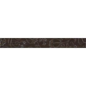 Бордюр «Наоми» 4.5x39.8 см цвет коричневый