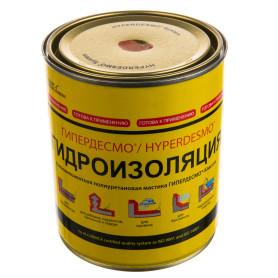 Мастика полиуретановая Alchimica Гипердесмо Классик, 1 кг, цвет красный