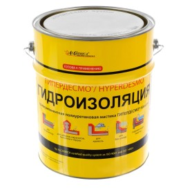 Мастика полиуретановая Alchimica Гипердесмо Классик, 6 кг, цвет белый